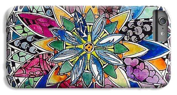 iPhone 6 Plus Case - Spring Mandala by Sandra Lira