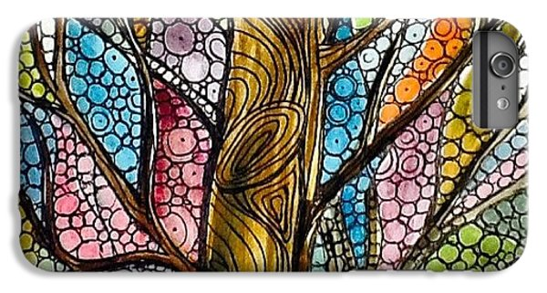 iPhone 6 Plus Case - My Happy Watercolor Tree by Sandra Lira