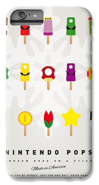 My Mario Ice Pop - Univers IPhone 6 Plus Case by Chungkong Art