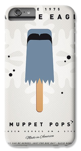 Eagle iPhone 6 Plus Case - My Muppet Ice Pop - Sam The Eagle by Chungkong Art