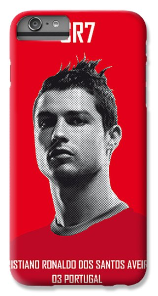 My Ronaldo Soccer Legend Poster IPhone 6 Plus Case by Chungkong Art