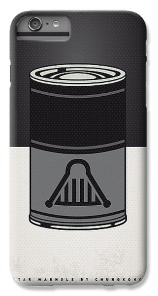 My Star Warhols Darth Vader Minimal Can Poster IPhone 6 Plus Case
