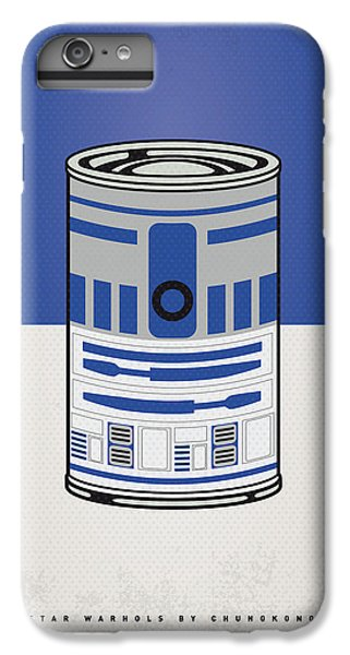 My Star Warhols R2d2 Minimal Can Poster IPhone 6 Plus Case by Chungkong Art