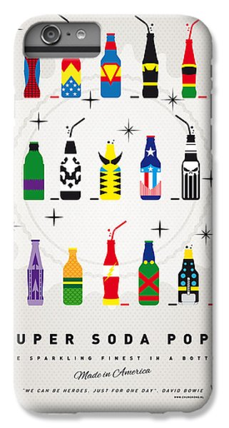 iPhone 6 Plus Case - My Super Soda Pops No-00 by Chungkong Art