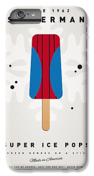 My Superhero Ice Pop - Spiderman IPhone 6 Plus Case by Chungkong Art