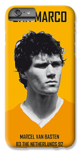 My Van Basten Soccer Legend Poster IPhone 6 Plus Case by Chungkong Art