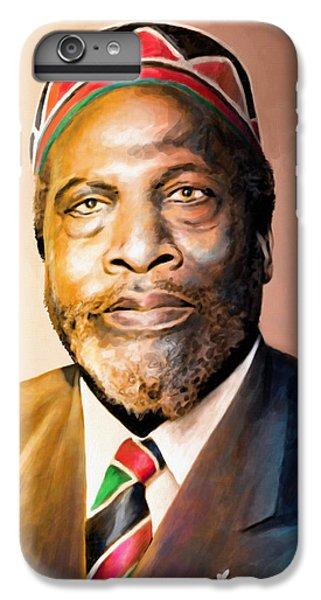 Mzee Jomo Kenyatta IPhone 6 Plus Case by Anthony Mwangi