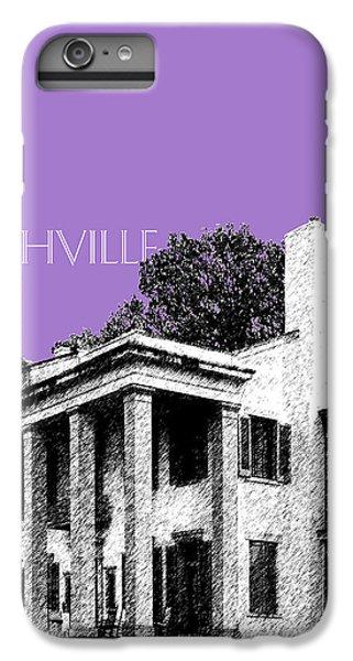 Nashville Skyline Belle Meade Plantation - Violet IPhone 6 Plus Case by DB Artist