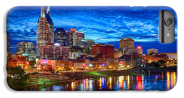 Nashville Skyline IPhone 6 Plus Case by Dan Holland