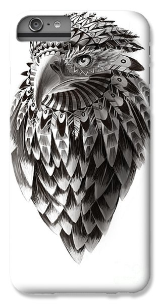 Eagle iPhone 6 Plus Case - Native American Shaman Eagle by Sassan Filsoof