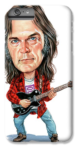 Neil Young IPhone 6 Plus Case by Art