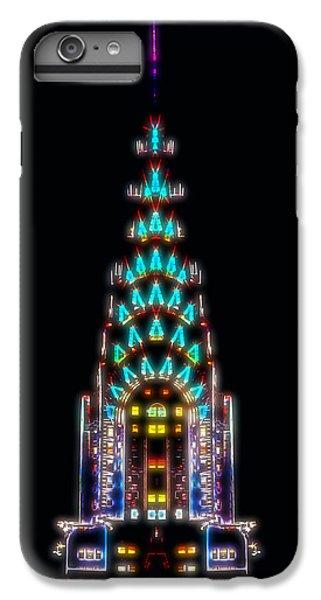 Neon Spires IPhone 6 Plus Case by Az Jackson