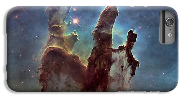 New Pillars Of Creation Hd Square IPhone 6 Plus Case by Adam Romanowicz