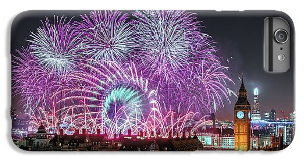 New Year Fireworks IPhone 6 Plus Case by Stewart Marsden