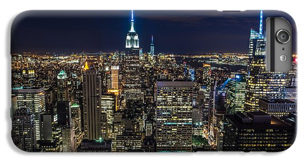 New York City IPhone 6 Plus Case by Larry Marshall