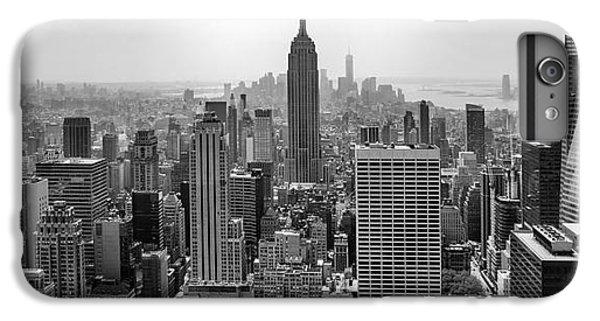 Empire State Building iPhone 6 Plus Case - New York Moody Skyline  by Az Jackson
