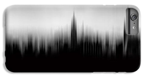 Empire State Building iPhone 6 Plus Case - New York Skyline Abstract by Az Jackson