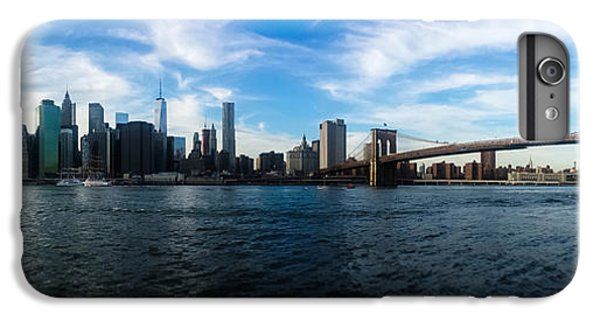 New York Skyline - Color IPhone 6 Plus Case by Nicklas Gustafsson