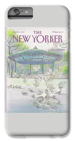 New Yorker April 6th, 1987 IPhone 6 Plus Case