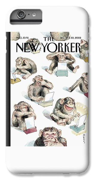 New Yorker December 23rd, 2002 IPhone 6 Plus Case by Barry Blitt