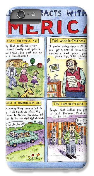 New Yorker January 16th, 1995 IPhone 6 Plus Case by Roz Chast