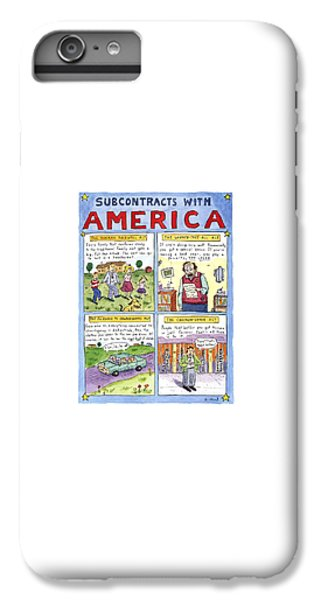 New Yorker January 16th, 1995 IPhone 6 Plus Case