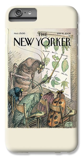 Cricket iPhone 6 Plus Case - New Yorker July 10th, 2000 by Edward Sorel