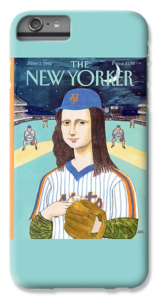 New York Mets iPhone 6 Plus Case - New Yorker June 3rd, 1991 by J.B. Handelsman