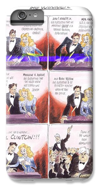 New Yorker March 24th, 1997 IPhone 6 Plus Case by Edward Sorel