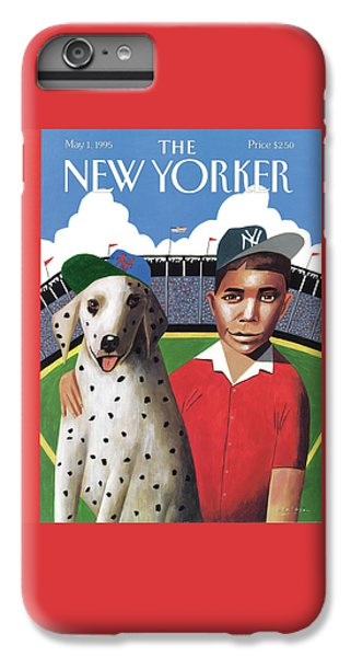 New York Mets iPhone 6 Plus Case - New Yorker May 1st, 1995 by Mark Ulriksen