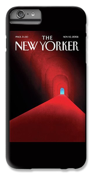Barack Obama iPhone 6 Plus Case - New Yorker November 10th, 2008 by Brian Stauffer