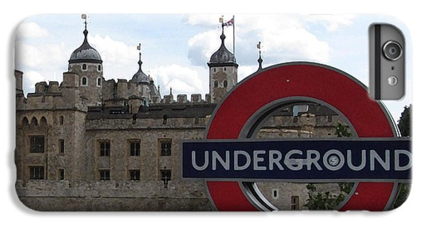 Tower Of London iPhone 6 Plus Case - Next Stop Tower Of London by Jenny Armitage