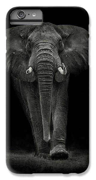 Africa iPhone 6 Plus Case - Ngorongoro Bull by Mario Moreno