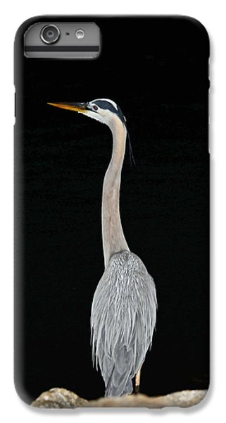 Night Of The Blue Heron 3 IPhone 6 Plus Case