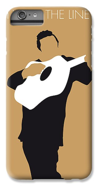 No010 My Johnny Cash Minimal Music Poster IPhone 6 Plus Case by Chungkong Art