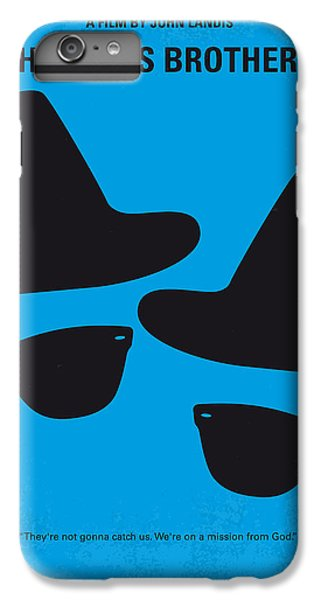 No012 My Blues Brother Minimal Movie Poster IPhone 6 Plus Case by Chungkong Art