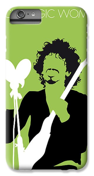 Magician iPhone 6 Plus Case - No046 My Santana Minimal Music Poster by Chungkong Art