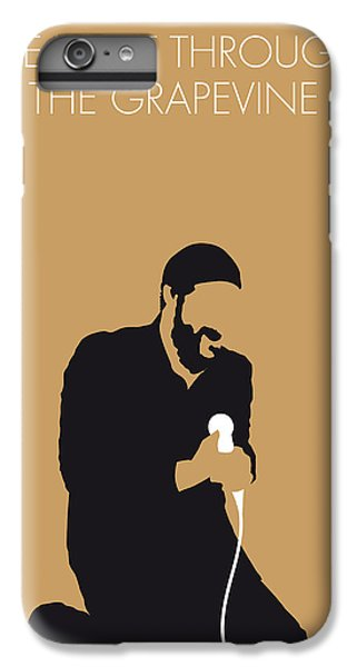 Knight iPhone 6 Plus Case - No060 My Marvin Gaye Minimal Music Poster by Chungkong Art