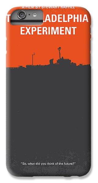 Philadelphia iPhone 6 Plus Case - No126 My The Philadelphia Experiment Minimal Movie Poster by Chungkong Art