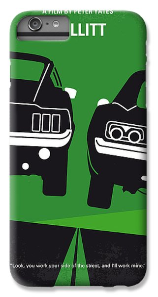 No214 My Bullitt Minimal Movie Poster IPhone 6 Plus Case by Chungkong Art