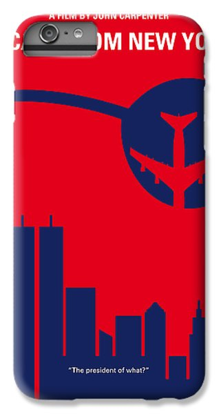 Central Park iPhone 6 Plus Case - No219 My Escape From New York Minimal Movie Poster by Chungkong Art