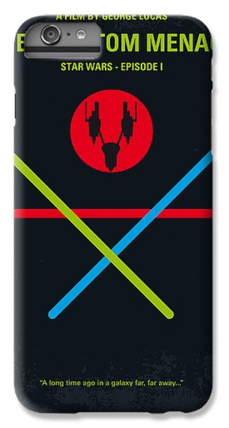 Knight iPhone 6 Plus Case - No223 My Star Wars Episode I The Phantom Menace Minimal Movie Poster by Chungkong Art