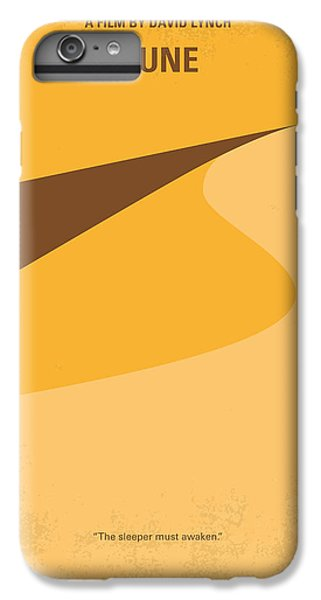 Desert iPhone 6 Plus Case - No251 My Dune Minimal Movie Poster by Chungkong Art