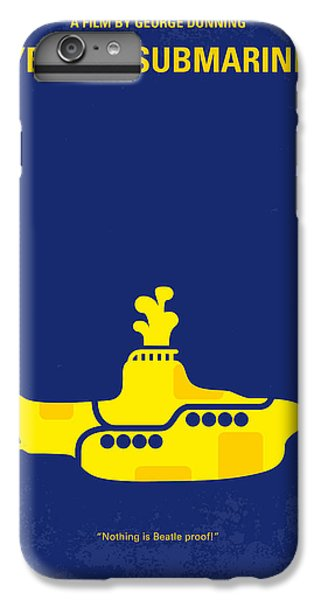 Musicians iPhone 6 Plus Case - No257 My Yellow Submarine Minimal Movie Poster by Chungkong Art