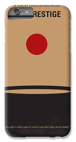 Magician iPhone 6 Plus Case - No381 My The Prestige Minimal Movie Poster by Chungkong Art