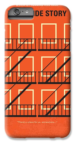 Jet iPhone 6 Plus Case - No387 My West Side Story Minimal Movie Poster by Chungkong Art