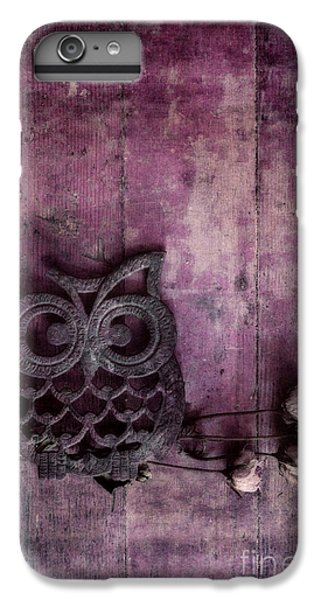 Nocturnal In Pink IPhone 6 Plus Case by Priska Wettstein