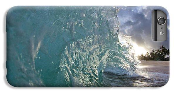 Water Ocean iPhone 6 Plus Case - Coconut Curl by Sean Davey