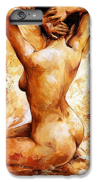 Nudes iPhone 6 Plus Case - Nude 06 by Emerico Imre Toth