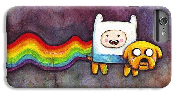 Nyan Time IPhone 6 Plus Case by Olga Shvartsur